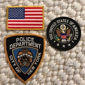 Other - USA, NYPD | NEW IRON ON PATCHES